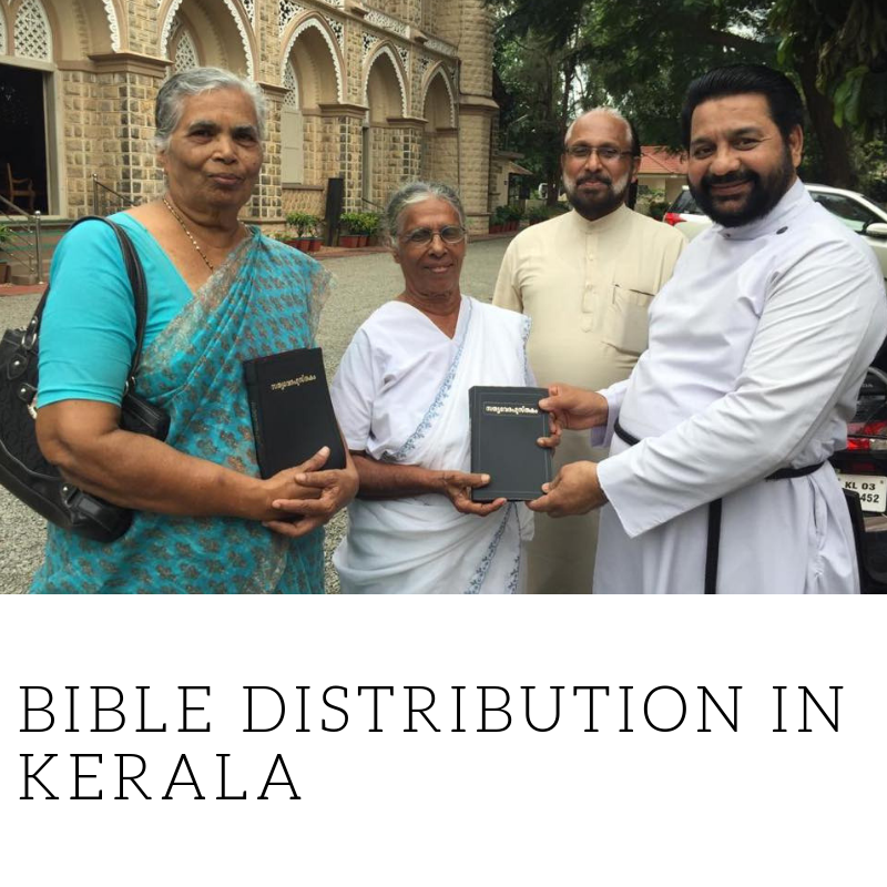 Bible Distribution In Kerala